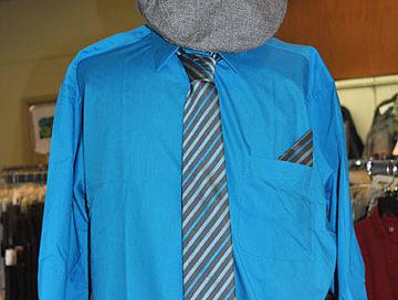 Men's Dress Shirt & Tie