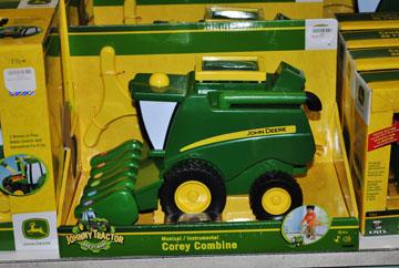 Toys Johnny Tractor Corey Combine