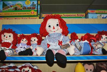 Toys Raggedy Ann