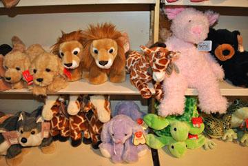 Dunham's stuffed animals