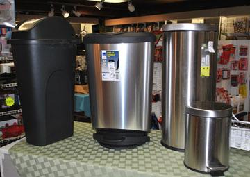 Housewares Trash Cans